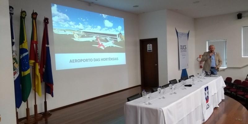 PROJETO DO AEROPORTO DE CANELA PODE COMEÇAR A SAIR DO PAPEL
