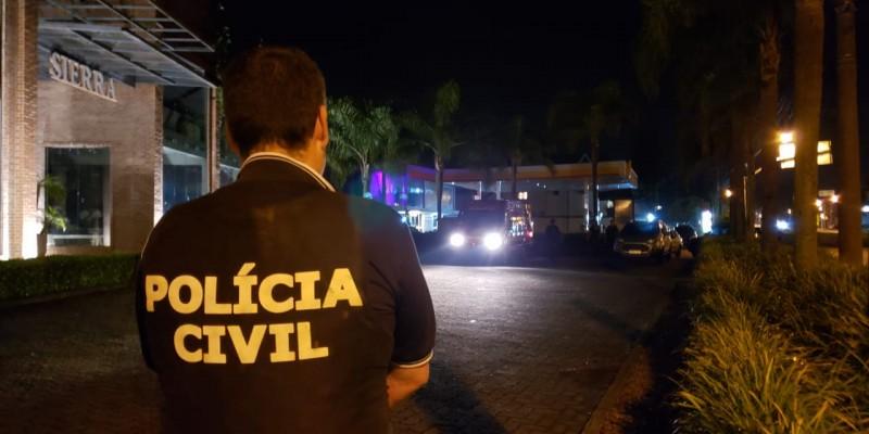 POLÍCIA CIVIL CAPTURA ASSALTANTE APÓS CAÇADA PELO INTERIOR