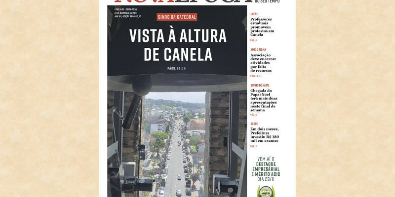 RESGATE HISTÓRICO POSSIBILITA  NOVOS ÂNGULOS DE CANELA