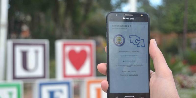 Wi-fi gratuito ajuda a projetar Canela