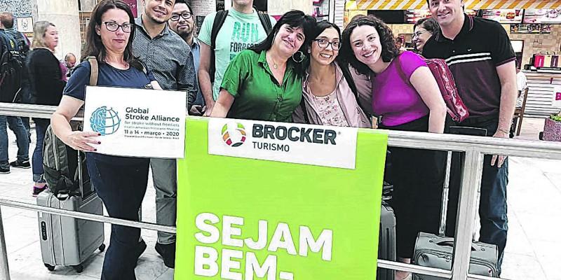 GRUPO BROCKER ATENDE EVENTOS INTERNACIONAIS no mês de MARÇO