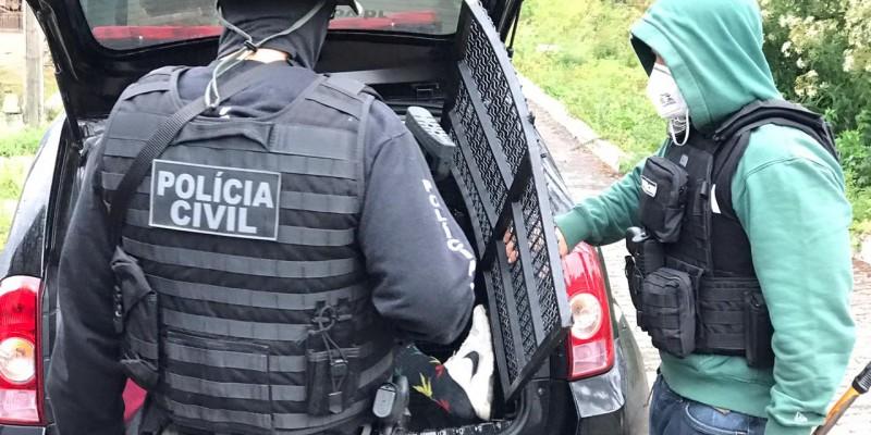 Polícia Civil prende autor de tentativa de homicídio