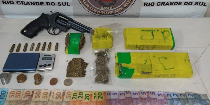 Brigada Militar intensifica repressão à venda de Drogas