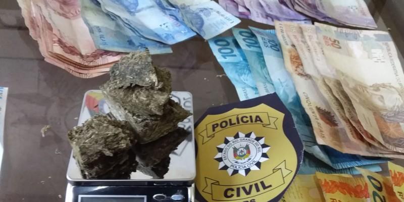 AÇÕES DA POLÍCIA CIVIL RESULTAM EM DUAS BAIXAS NO TRÁFICO DE DROGAS