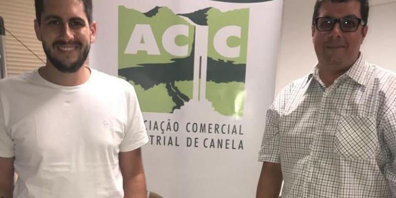 Lucas Dias é aclamado presidente da ACIC