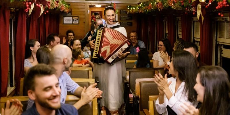 Natal Sobre Trilhos, na Maria Fumaça, inicia sábado