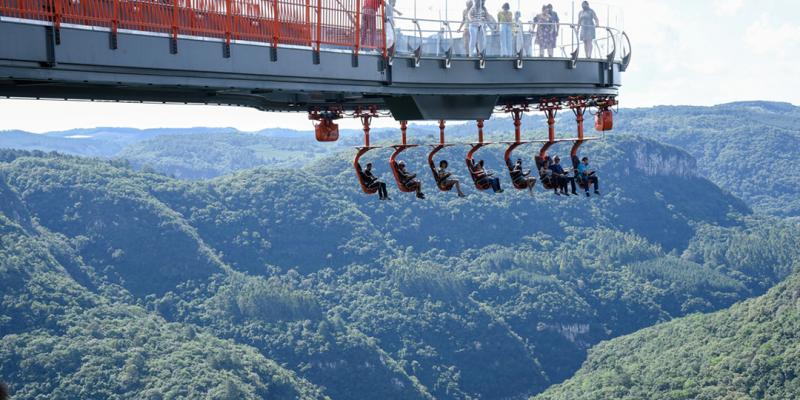 Skyglass Canela marca nova fase do turismo gaúcho