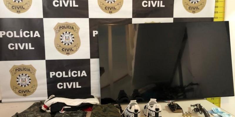 Adolescente envolvido em assalto à residência em Gramado é apreendido pela Polícia