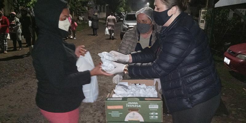 Marmita solidária ultrapassa 10 mil refeições