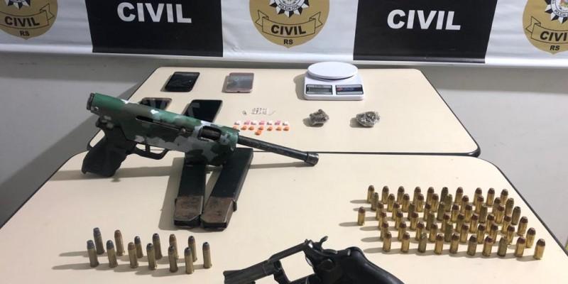 Suspeitos de envolvimento em assalto à fábrica de chocolates são presos em Gramado