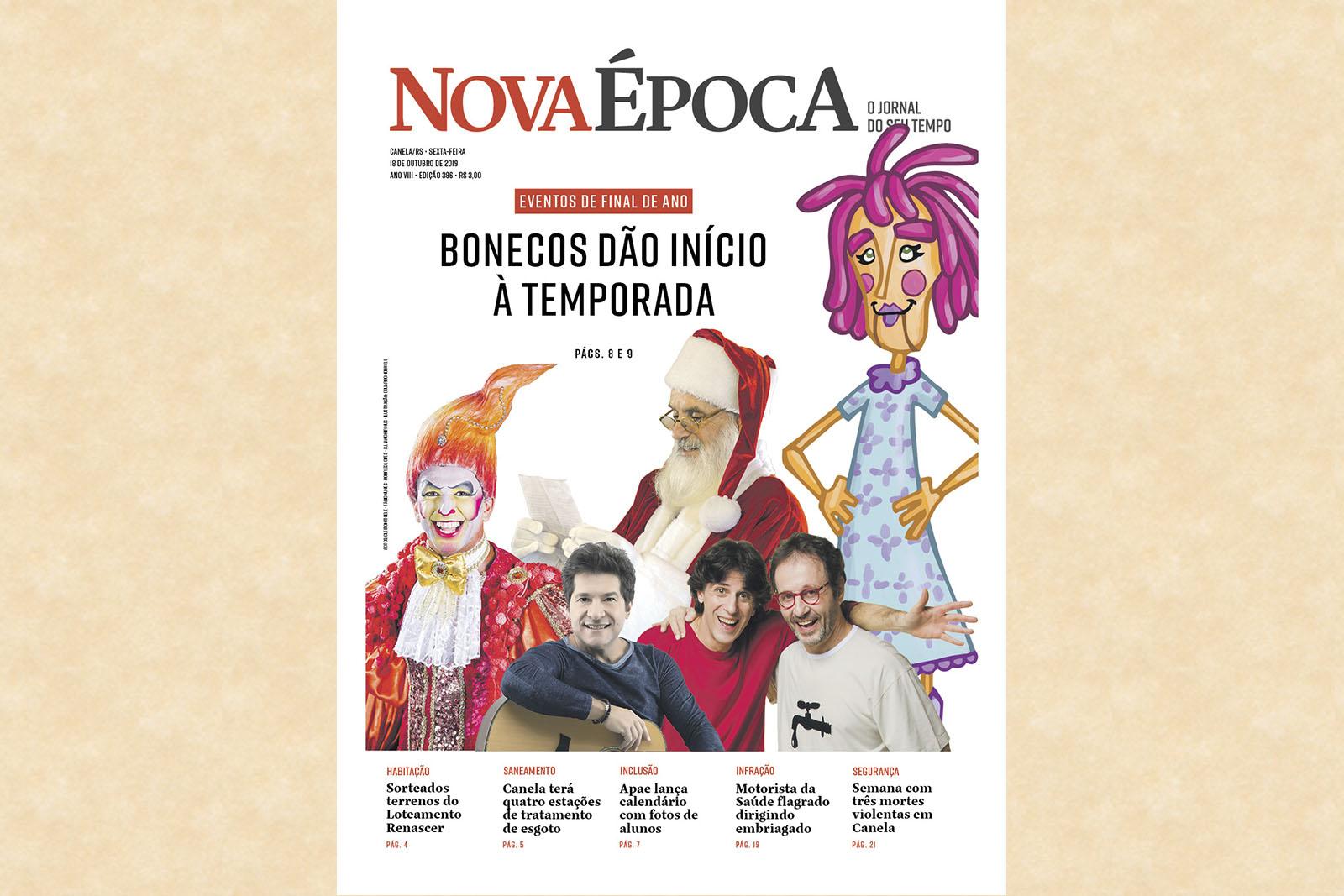 BONECOS DE CANELA DÃO A LARGADA NA TEMPORADA DE ATRAÇÕES