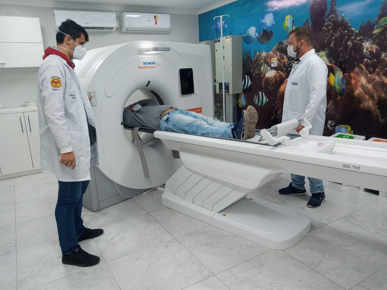 TOMÓGRAFO ENTRA EM FUNCIONAMENTO  NO HOSPITAL DE CARIDADE DE CANELA