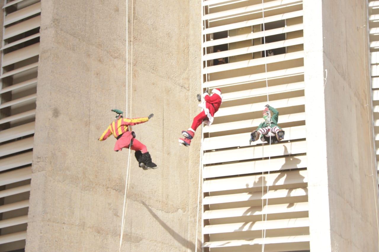 Papai Noel de Canela visita a Capital federal