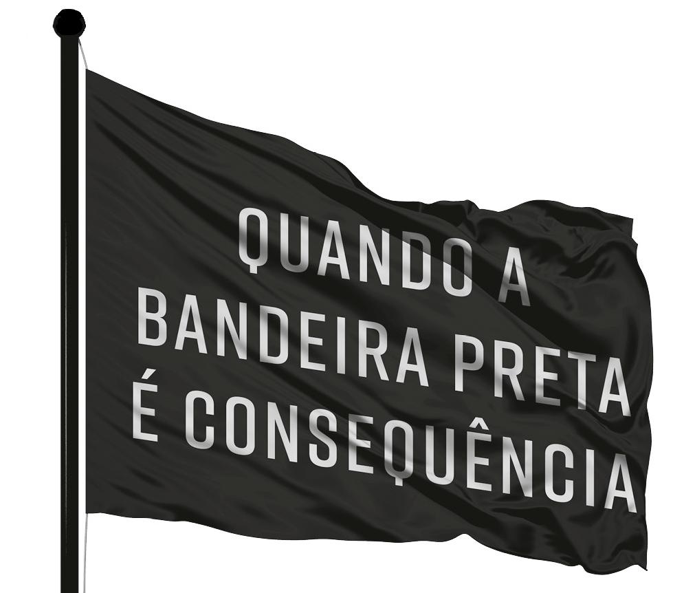 O porquê da bandeira preta