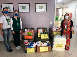 Escola Ninho promove ação solidária