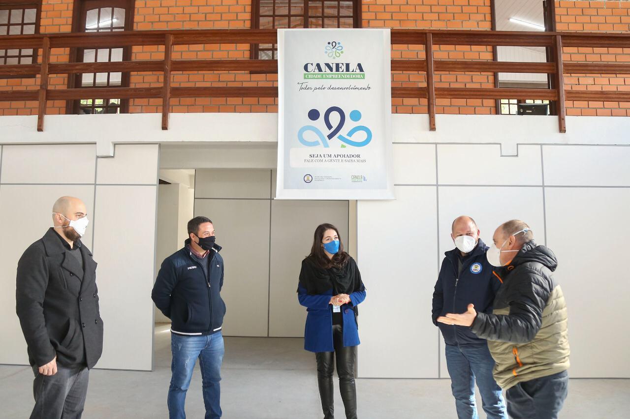 Canela cidade empreendedora: UCS visita as futuras instalações do Cidica
